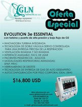 Ventilador eVent 3e Evolution Essential High Pressure
