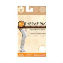TH97101 Media THERAFIRM Antiembolica 18mmHg CH Blanco