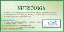 Nutrióloga