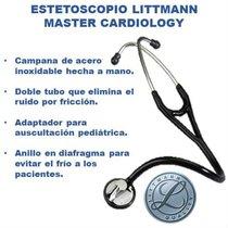 Estetoscopio Master Cardiology Littmann Black Edition.