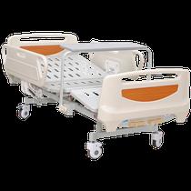 Cama de hospital manual médica L1 Cama de hospitalización