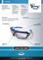 Lente Goggle 3100Af