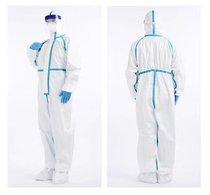 Disposable medical protection suit  Traje de protección médica desechable