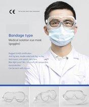 Medical isolation eye mask Mascarilla de aislamiento médico