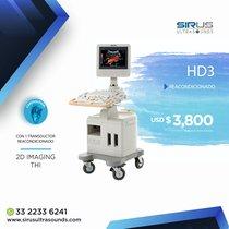 Ultrasonido PHILIPS HD 3 Equipo cardiovascular