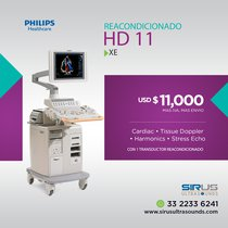 Ultrasonido PHILIPS HD 11 XE Equipo cardiovascular