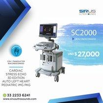 Ultrasonido SIEMENS ACUSON SC2000 Equipo cardiovascular