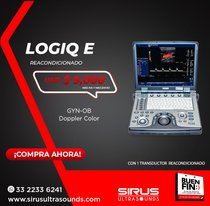 Ultrasonido portatil Logiq e  | Equipo cardiovascular
