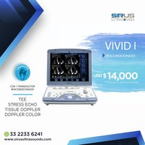 Ultrasonido GE Vivid I |Equipo cardiovascular