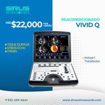 Ultrasonido Portatil Vivid Q | Ultrasonido Cardiovascular