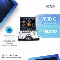 Ultrasonido Portatil Vivid Q | Ultrasonido Cardiovascular