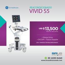 Ultrasonido GE Vivid S5 | Equipo Médico cardiovascular