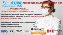 Cubrebocas N95 Uso Medico