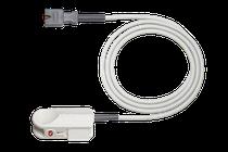 Cable y sensor de Saturación de Oxígeno SpO2 reusable, infantil para M y E Series