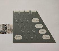 Teclado membrana para Burdick EK-10