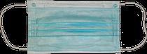 Cubrebocas de 3 capas plisado termosellado