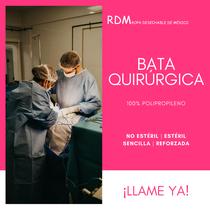 Bata Quirúrgica 100% polipropileno