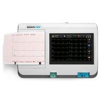 Electrocardiógrafo de 3 canales, pantalla táctil, modelo SE-301