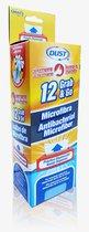 Dispensador Con 12 Toallas De Microfibra Antibacterial Dust