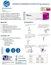 Prueba Standard Q Covid-19 Antigeno
