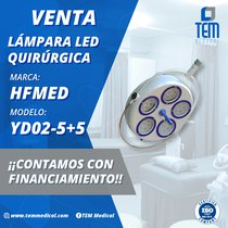 Lámpara Quirúrgica LED marca HFMED