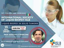 Webinar sobre Biopsia Liquida en Tumores Solidos