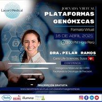 "Jornada Virtual ""PLATAFORMAS GENÓMICAS"