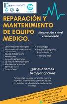 Reparación, mantenimiento y rehabilitación de equipo medico
