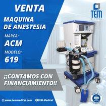 Máquina de Anestesia ACM 619