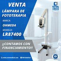 Lámpara de Fototerapia Ohmeda. Apertura Ajustable