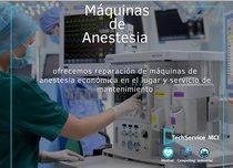 Reparación y Servicio de Maquinas de Anestesia