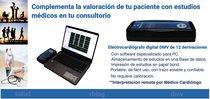 Electrocardiógrafo digital DMV de 12 derivaciones