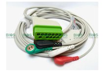 Cable ECG Nihon Kohden Generico. 12 Pins, 5-Leads.