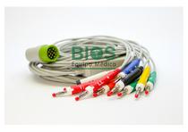 Cable EKG Medtronic Generico, 12 Pins 10 Leads, Banana 4.0 mm, AHA