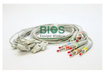 CABLE MULTI-LINK PHILIPS GENERICO 10 LEADS, TIPO: BANANA 4.0mm GENERICO