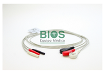 Latiguillos ECG Spacelabs, 3 Leads Tipo: DIN