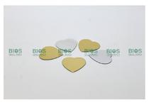 Parche Reflejante Form. Corazon Plata/Oro 50 Piezas