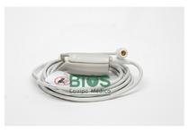 Sensor Oximetria Adulto BIOCARE 6 Pins, 40°,2 Guias, 3M, Generico