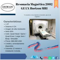 Resonancia Magnética GE