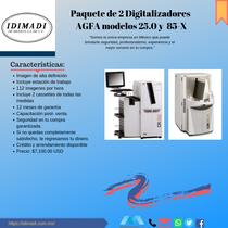Digitalizadores AGFA 25.0 y 85-X