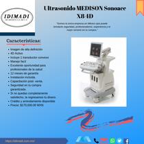 Ultrasonido SONOACE X8 4D