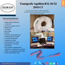 Equipo de Tomografía TOSHIBA Aquilion RXL 32