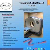 Tomógrafo GE LightSpeed VCT 64
