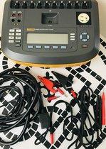 Analizador de Seguridad Eléctrica Fluke ESA620 con simulador de ECG.