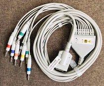 Cable Ecg 10 Latiguillos Burdick Atria 3000, 3100 Y 6100 (ec025b)