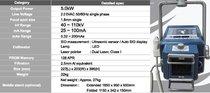 Rayos X Portatil De Alta Potencia Ecoview Ultra 100