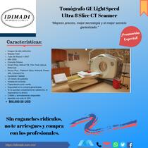 Tomógrafo GE LightSpeed Ultra 8