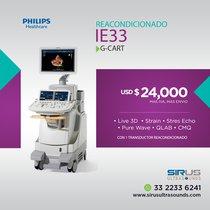 Equipo Medico de Cardiología IE33 G Cart