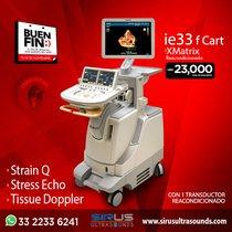 Oferta Buen Fin en Equipo de cardiología IE 33 F Cart