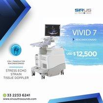 Oferta Ultrasonido Vivid 7, equipo cardio vascular reacondicionado